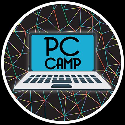 pc camp logo moose jaw computer repair sales